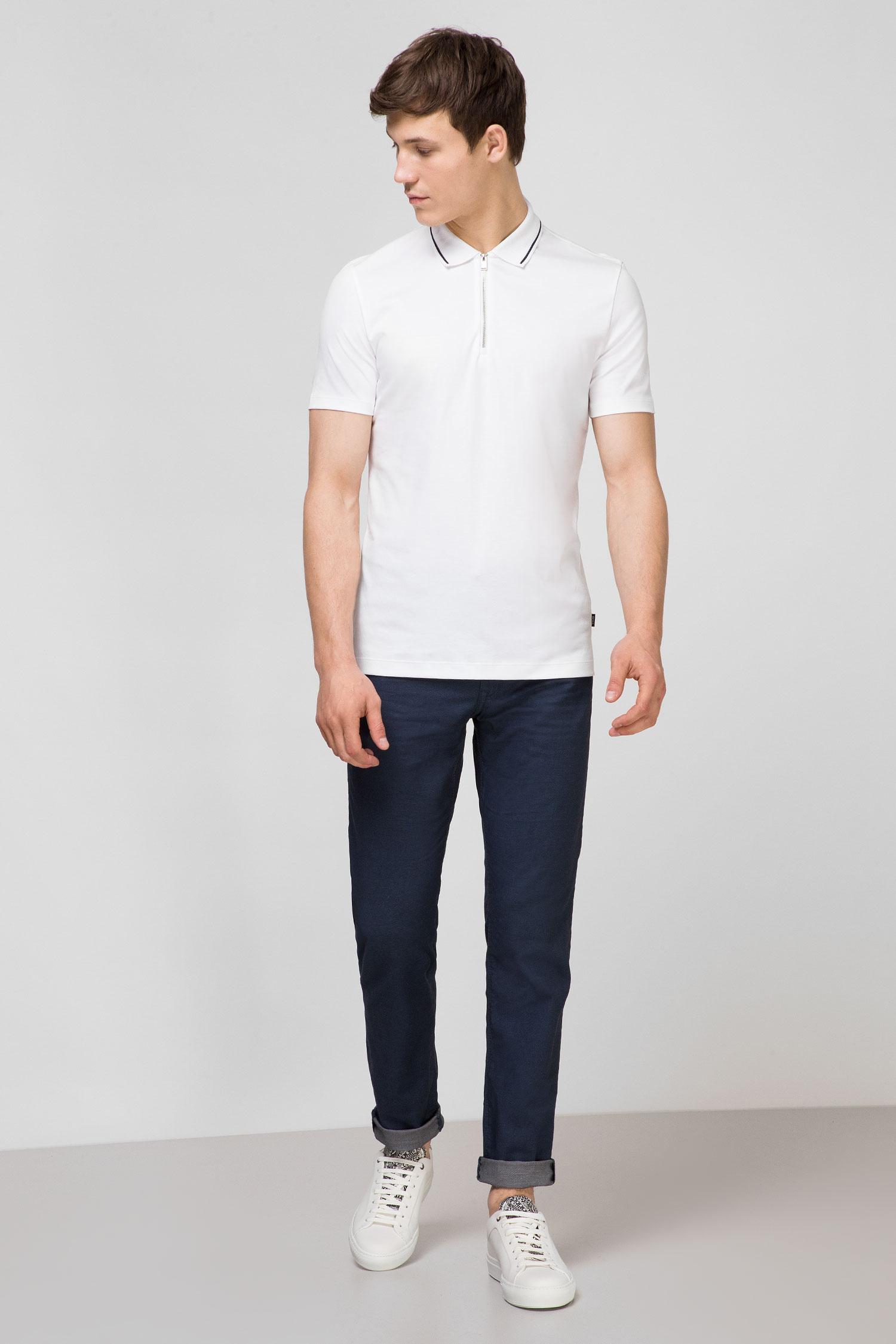 Мужские синие брюки BOSS 50420963;402