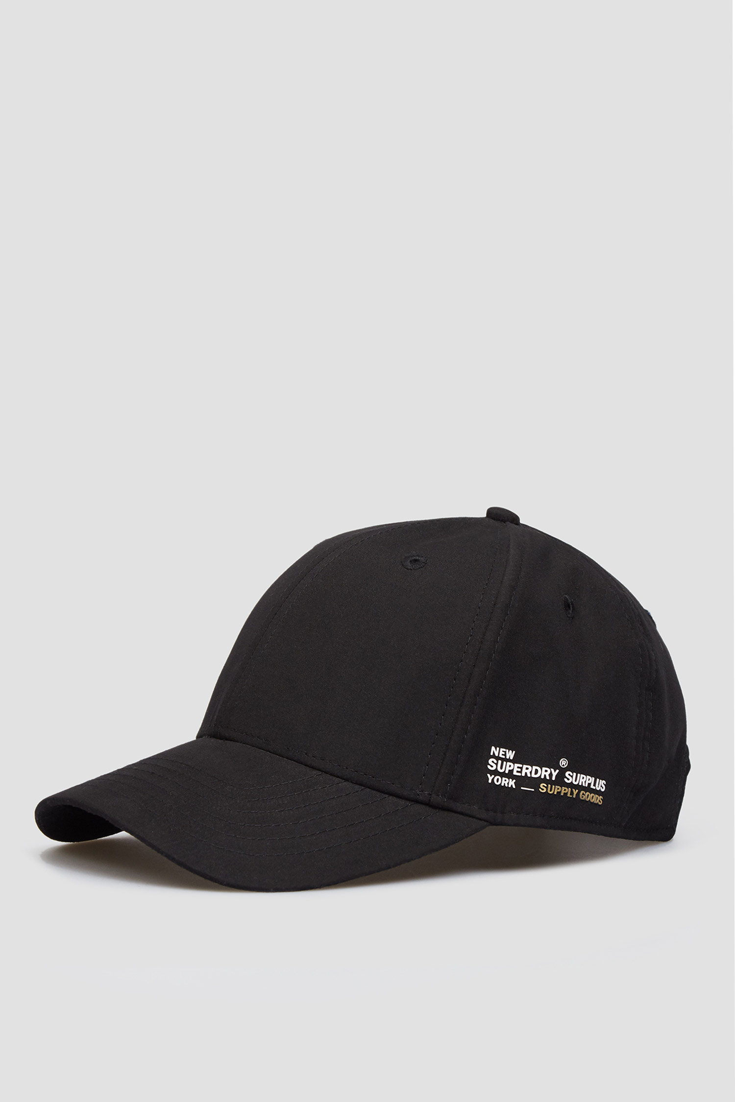 Женская черная кепка SuperDry W9010053A;02A