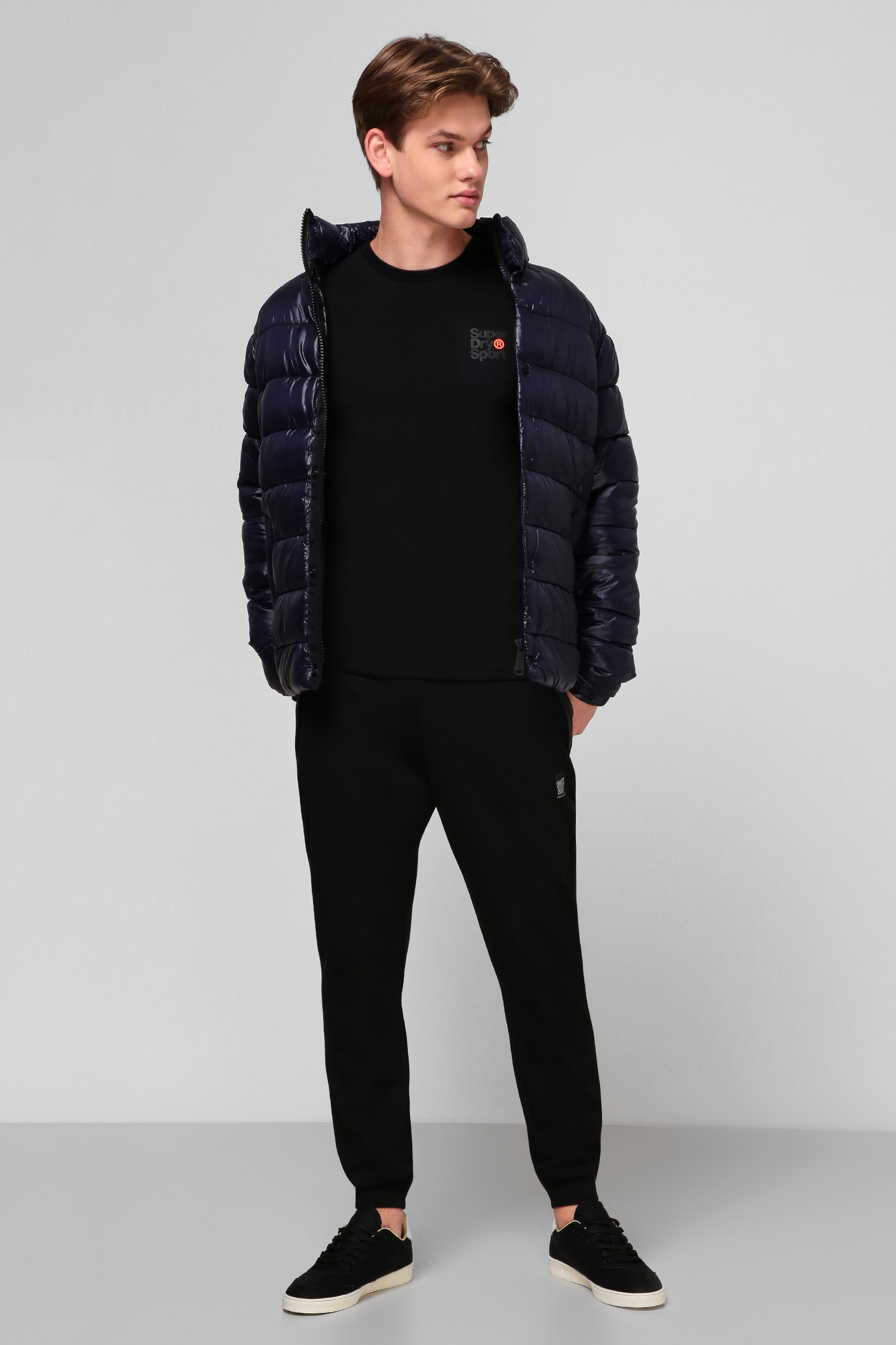 Черная футболка для парней SuperDry MS300015A;02A