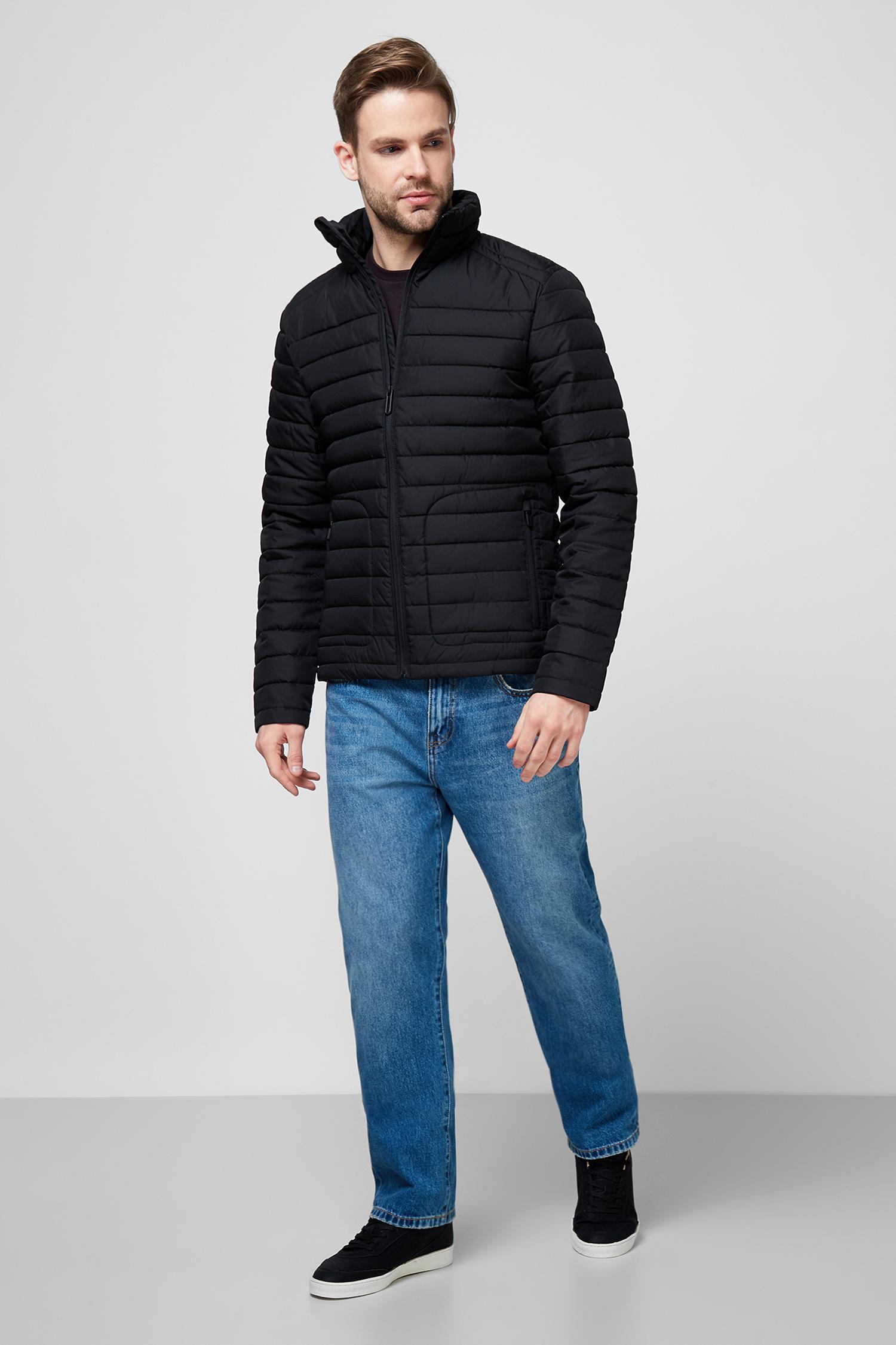Мужская черная куртка SuperDry M5010206A;02A