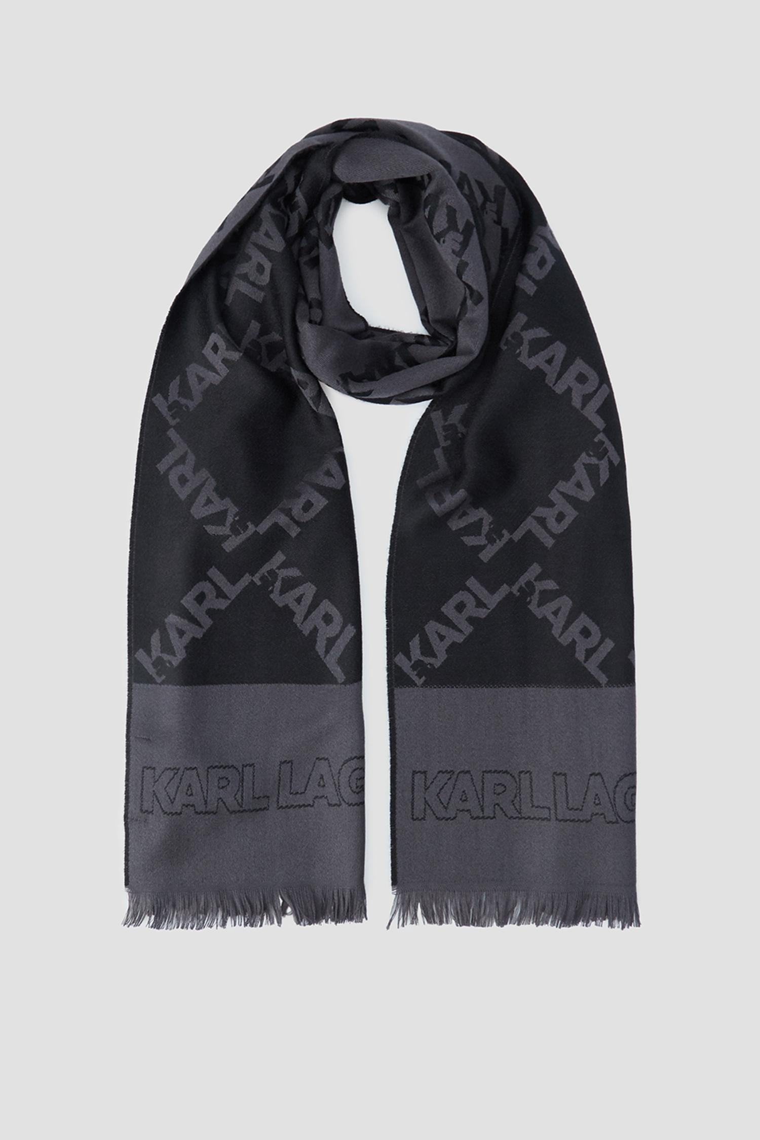 Мужской шерстяной шарф Karl Lagerfeld 502134.805001;270