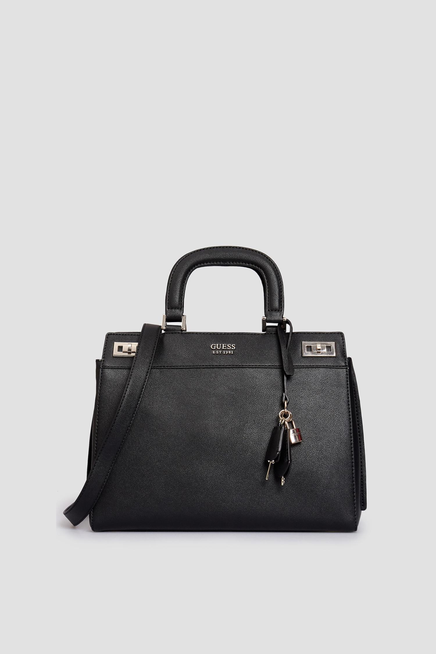 Женская черная сумка Guess HWVG78.70070;BLA