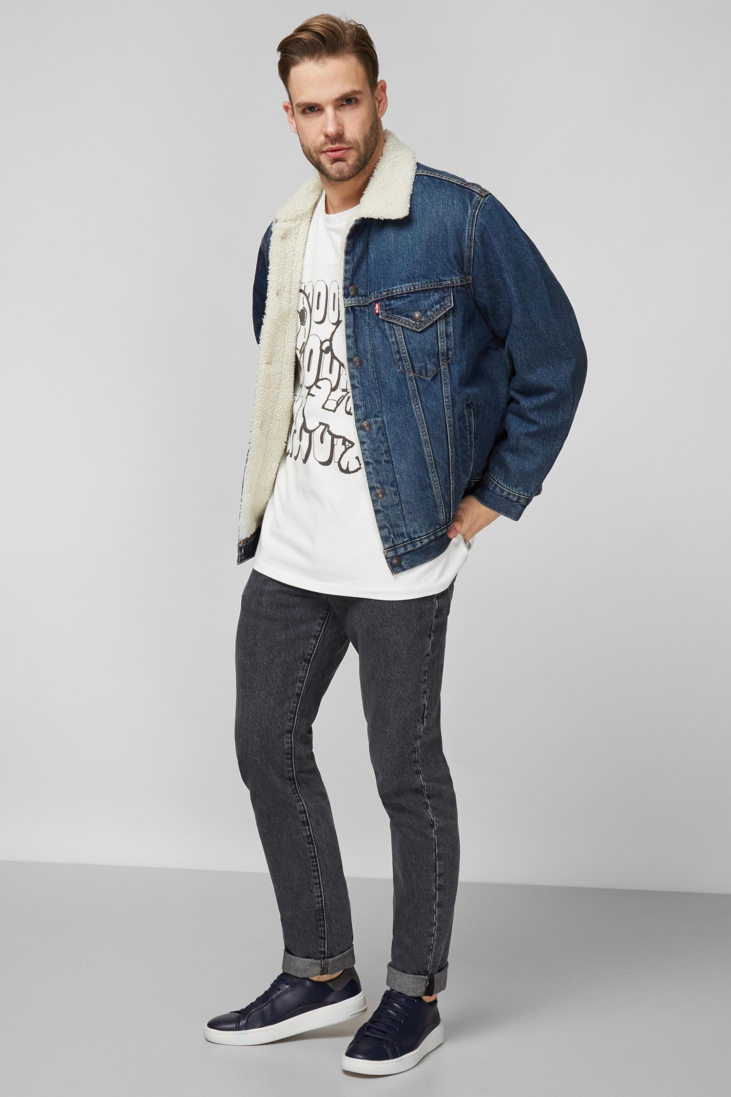 Мужская синяя джинсовая куртка Levi's 79129;0004