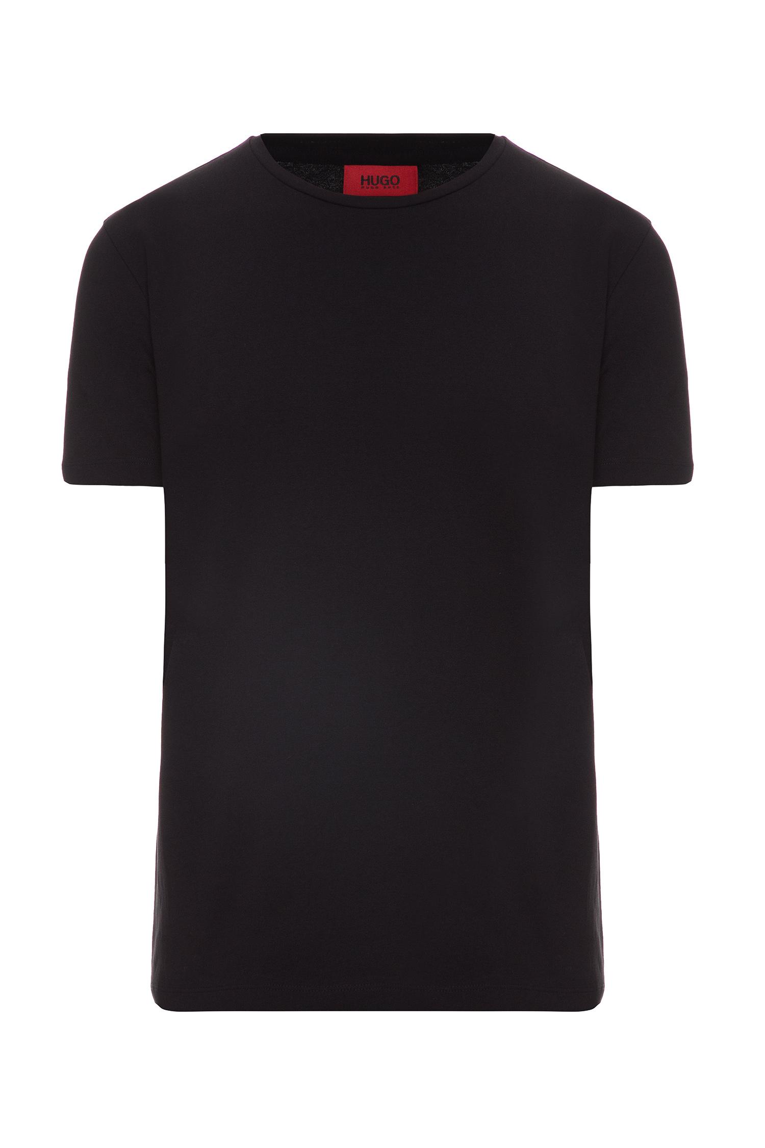 Мужская черная футболка (2 шт) HUGO 50325440;001