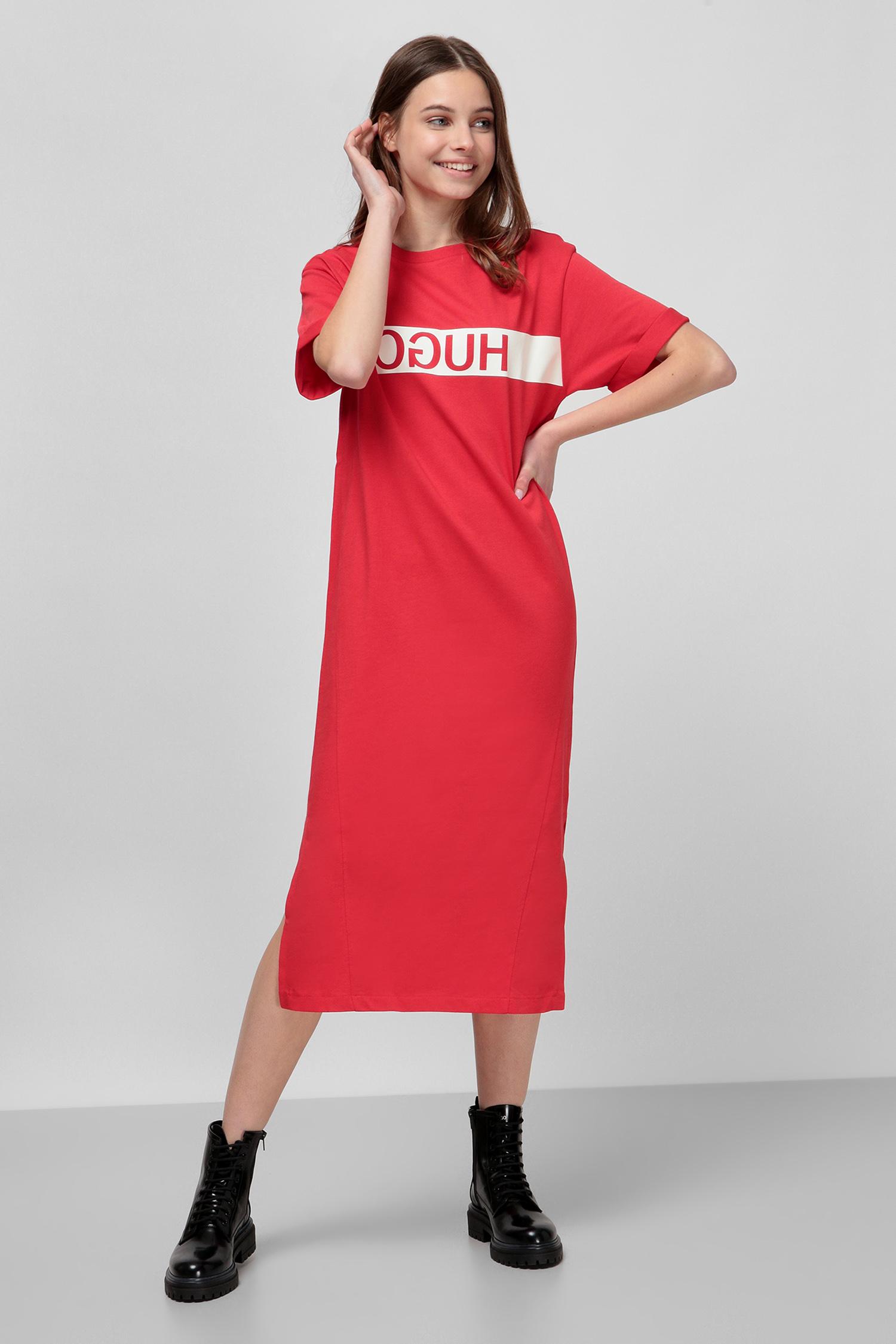 Красное платье для девушек HUGO 50427925;693