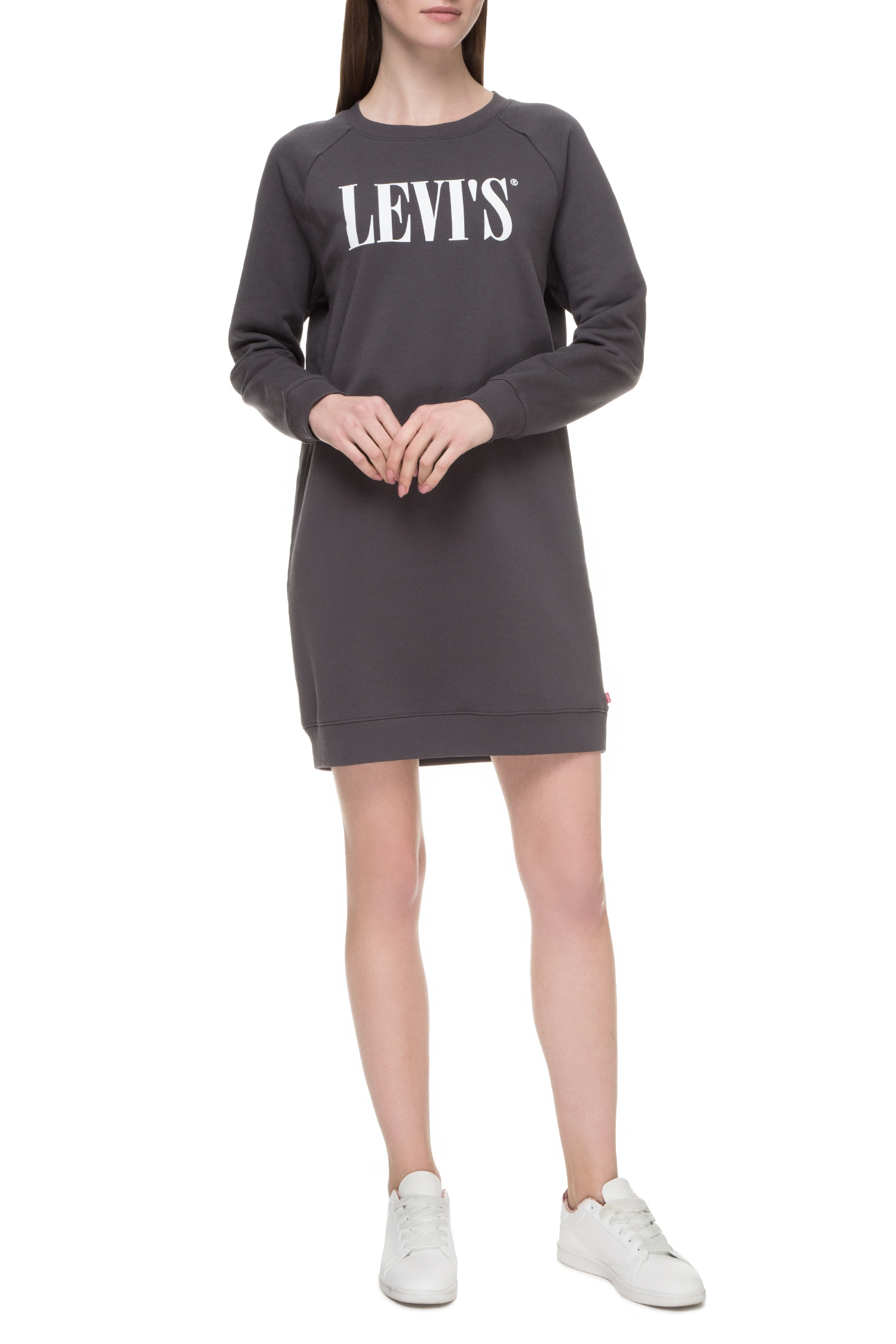 Женское темно-серое платье-свитшот Levi's 81860;0003